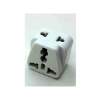 Plug Adapter White